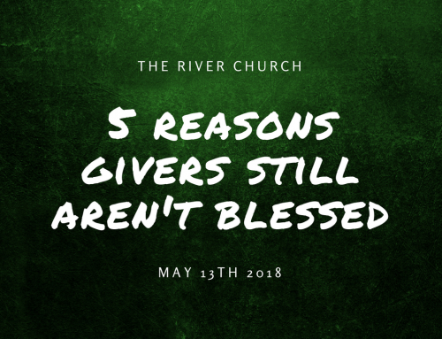 5 Reasons Givers Still Aren't Blessed